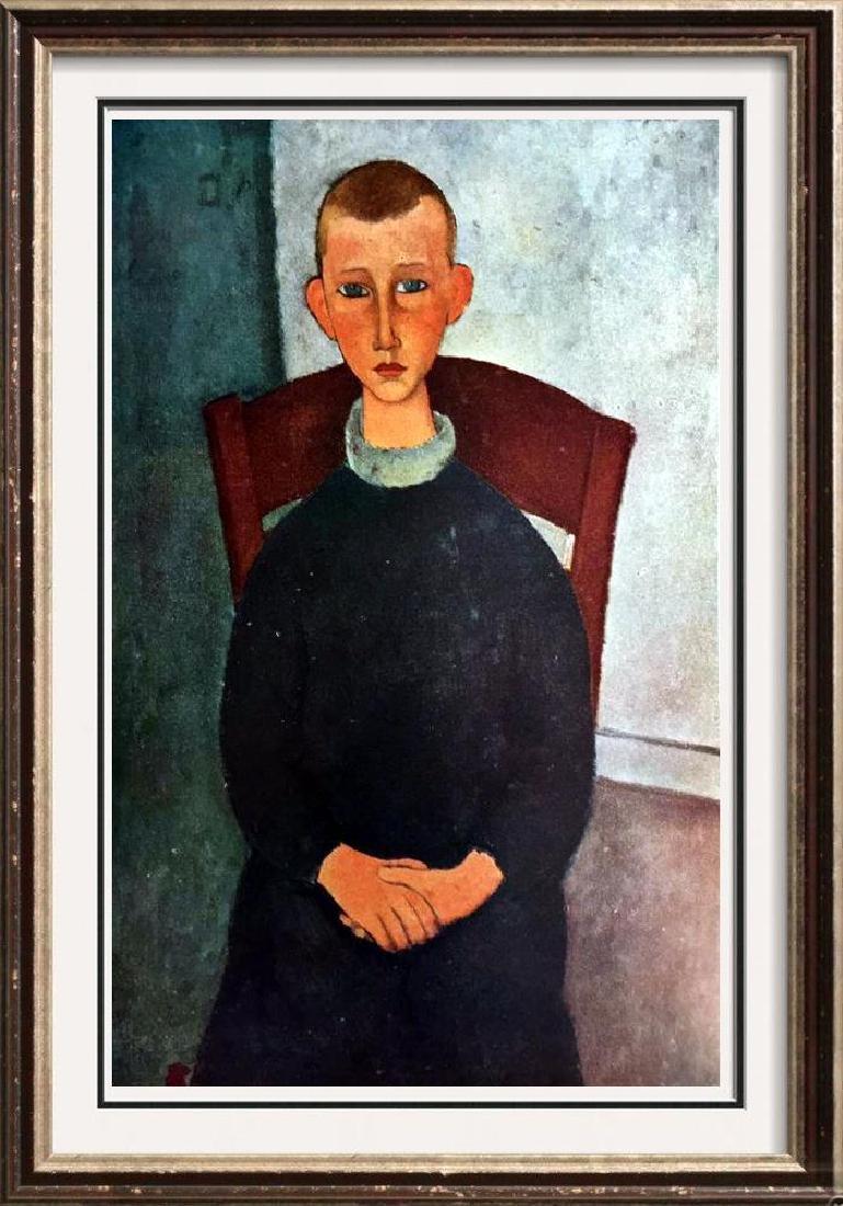 Amedeo Modigliani Peintures Le Gosse Du Concierge