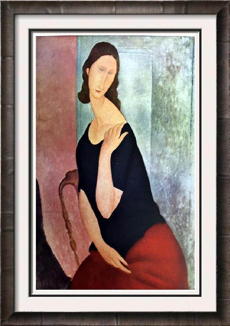 Amedeo Modigliani Peintures Portrait De Madame