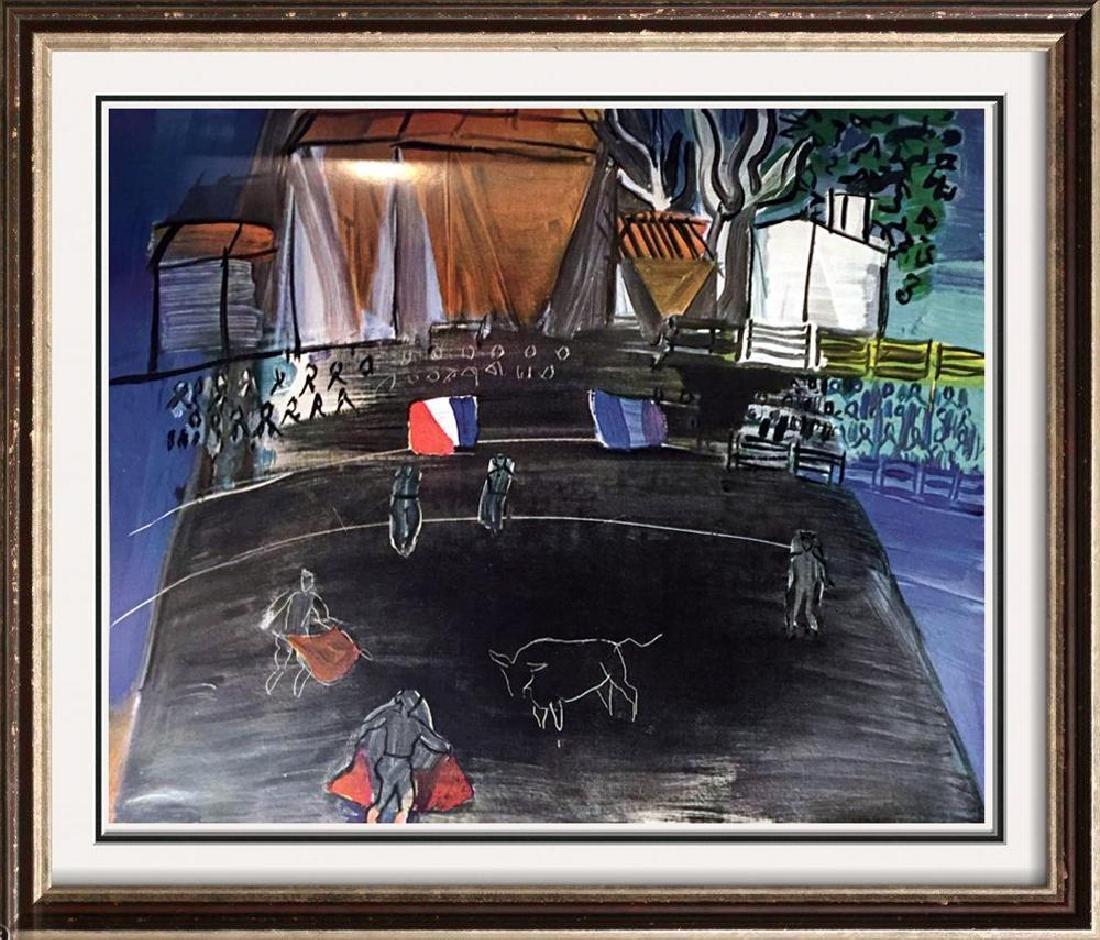 Raoul Dufy Bullfight c.1948 Fine Art Print