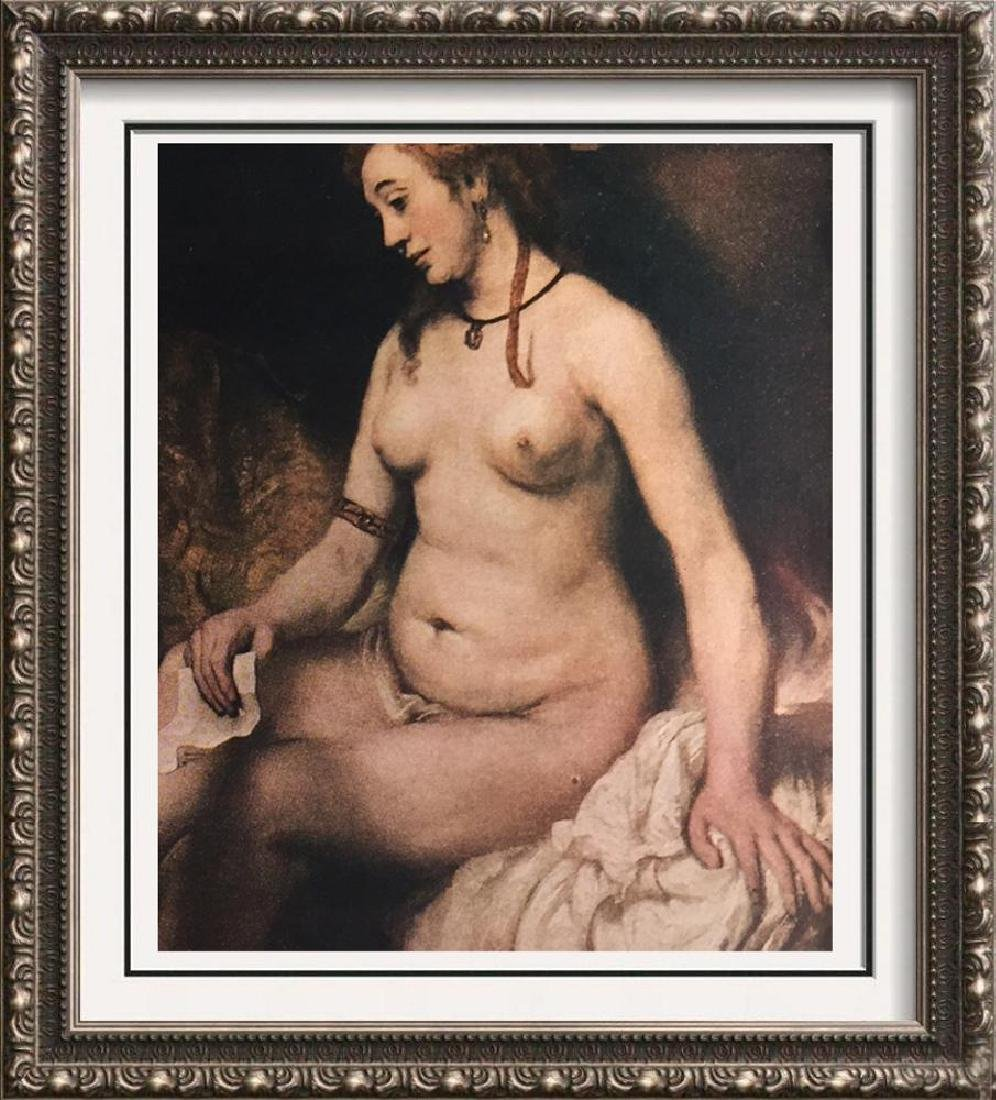 Rembrandt Bathsheba c.1654 Fine Art Print Signed in