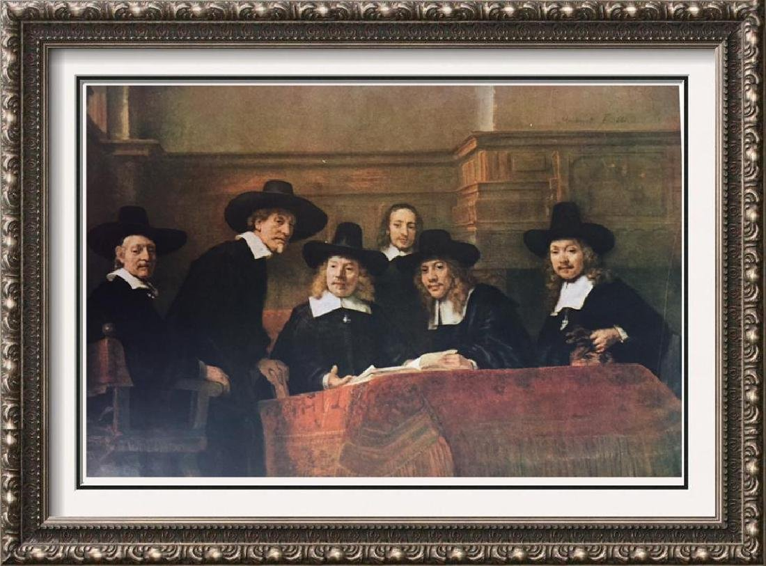 Rembrandt The Board of the Clothmaker Guild (The