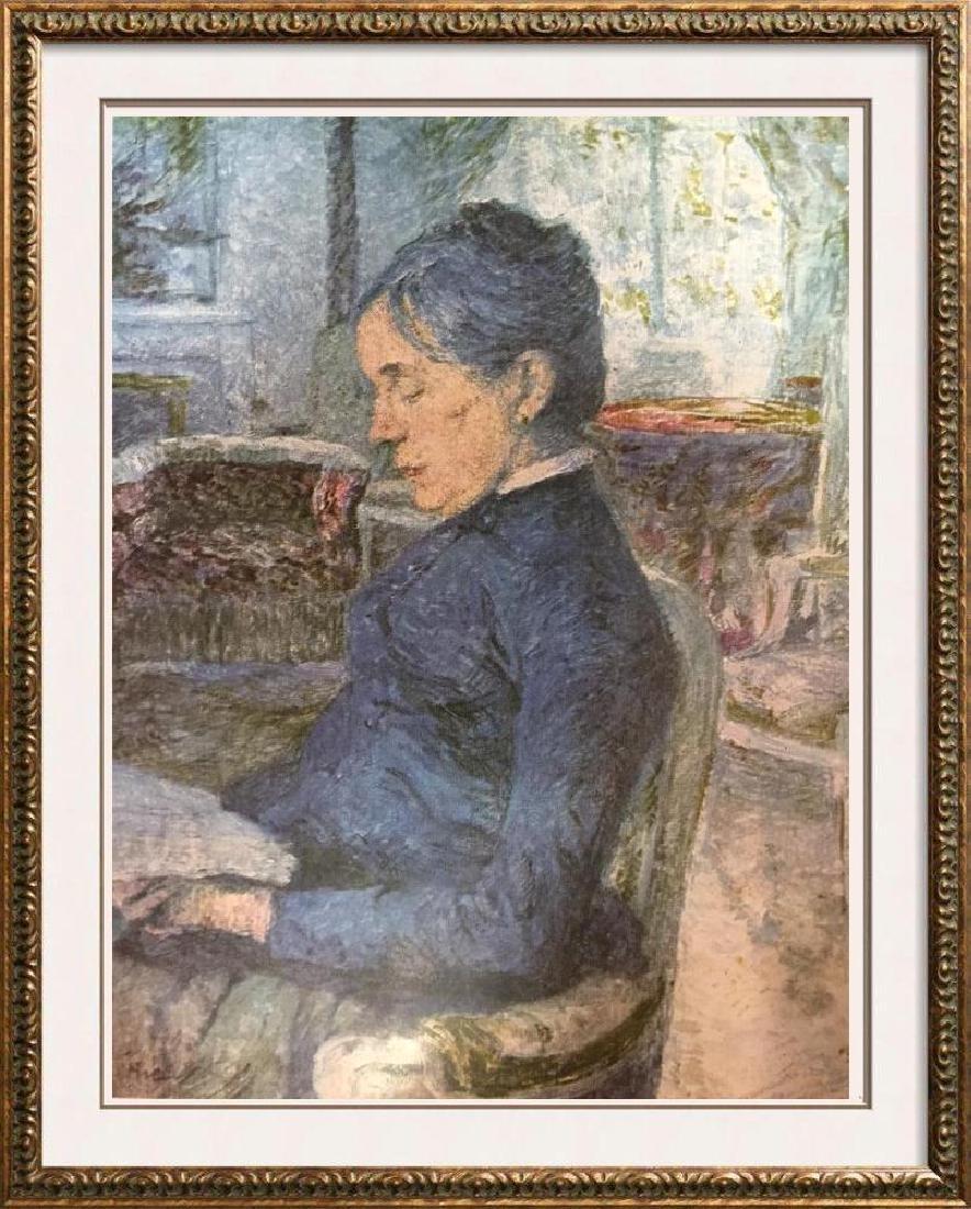 Toulouse-Lautrec Portrait of the Artist's Mother