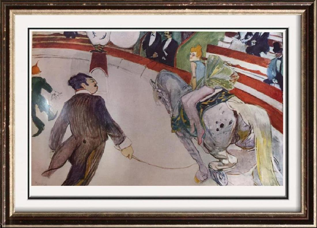 Toulouse-Lautrec Cirque Fernando: The Equestrienne