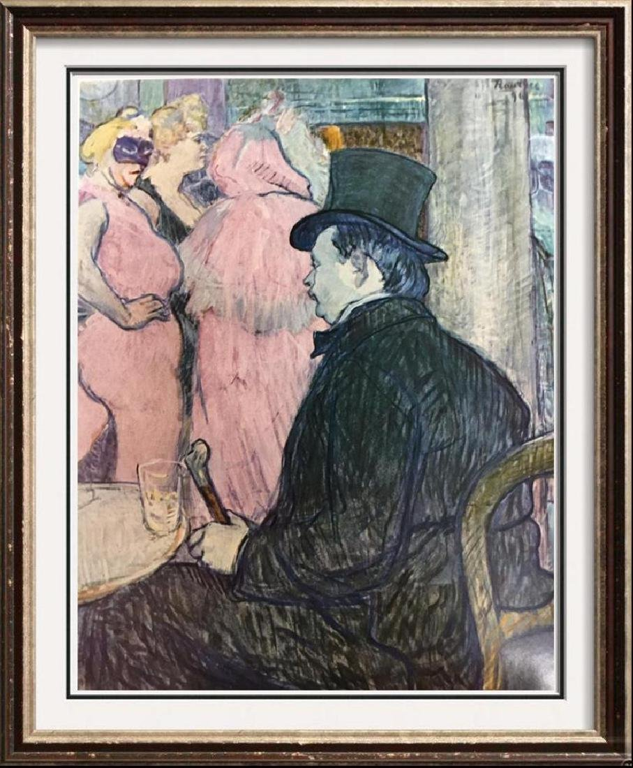 Toulouse-Lautrec Maxime Dethomas at the Opera Ball