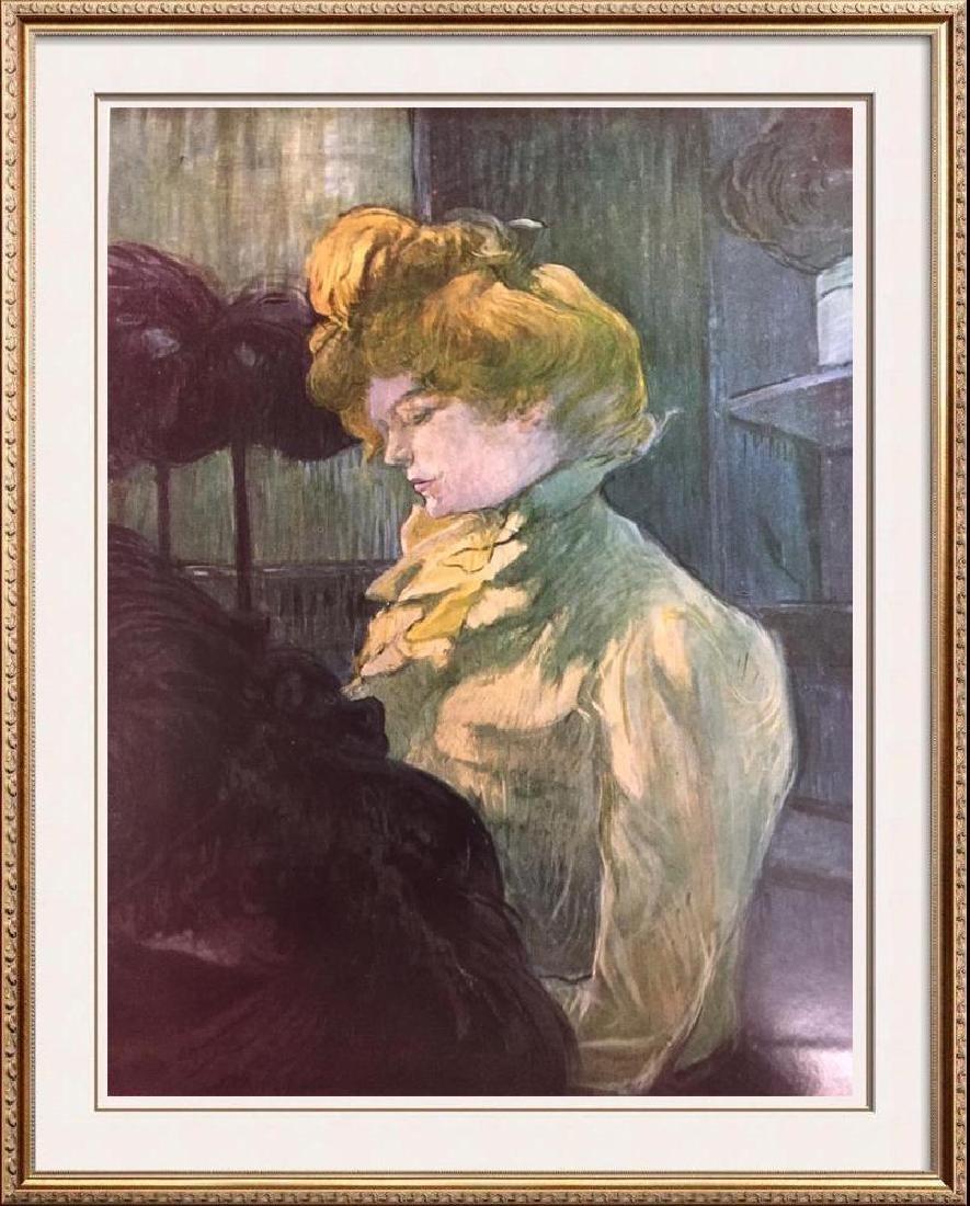 Toulouse-Lautrec The Modiste c.1900 Fine Art Print