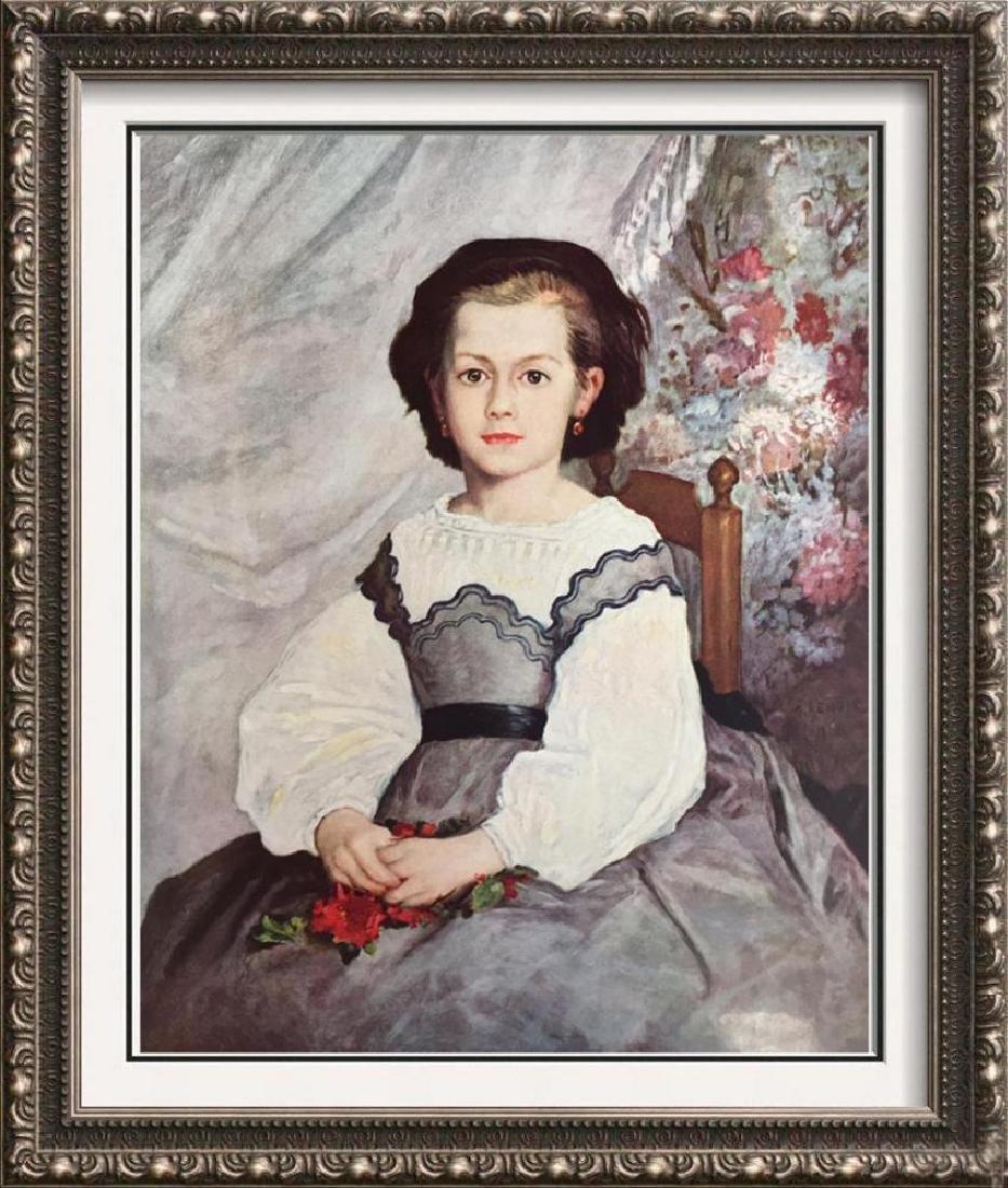 Pierre Auguste Renoir Mademoiselle Romaine Lacaux