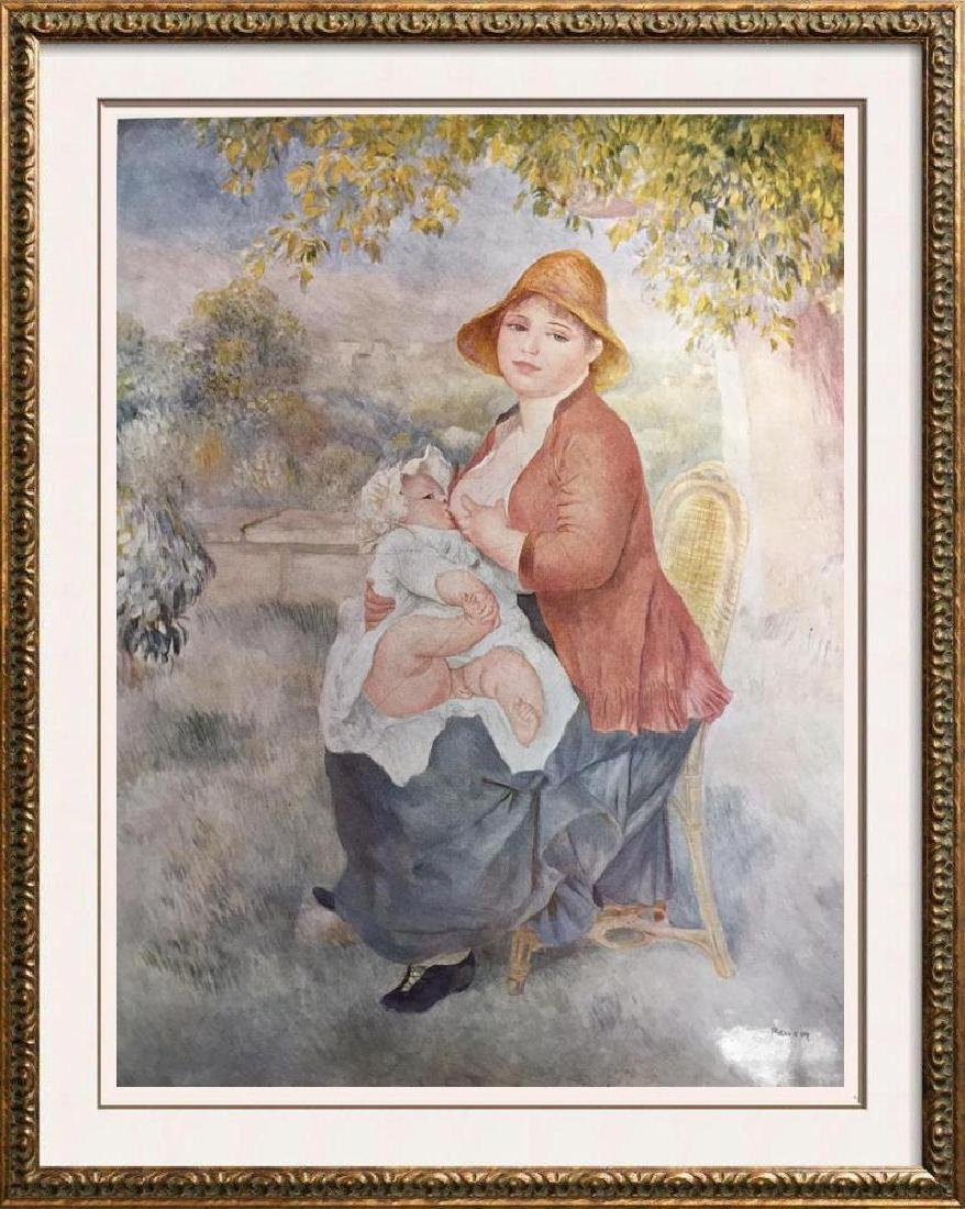 Pierre Auguste Renoir Mother and Child c.1886 Fine Art