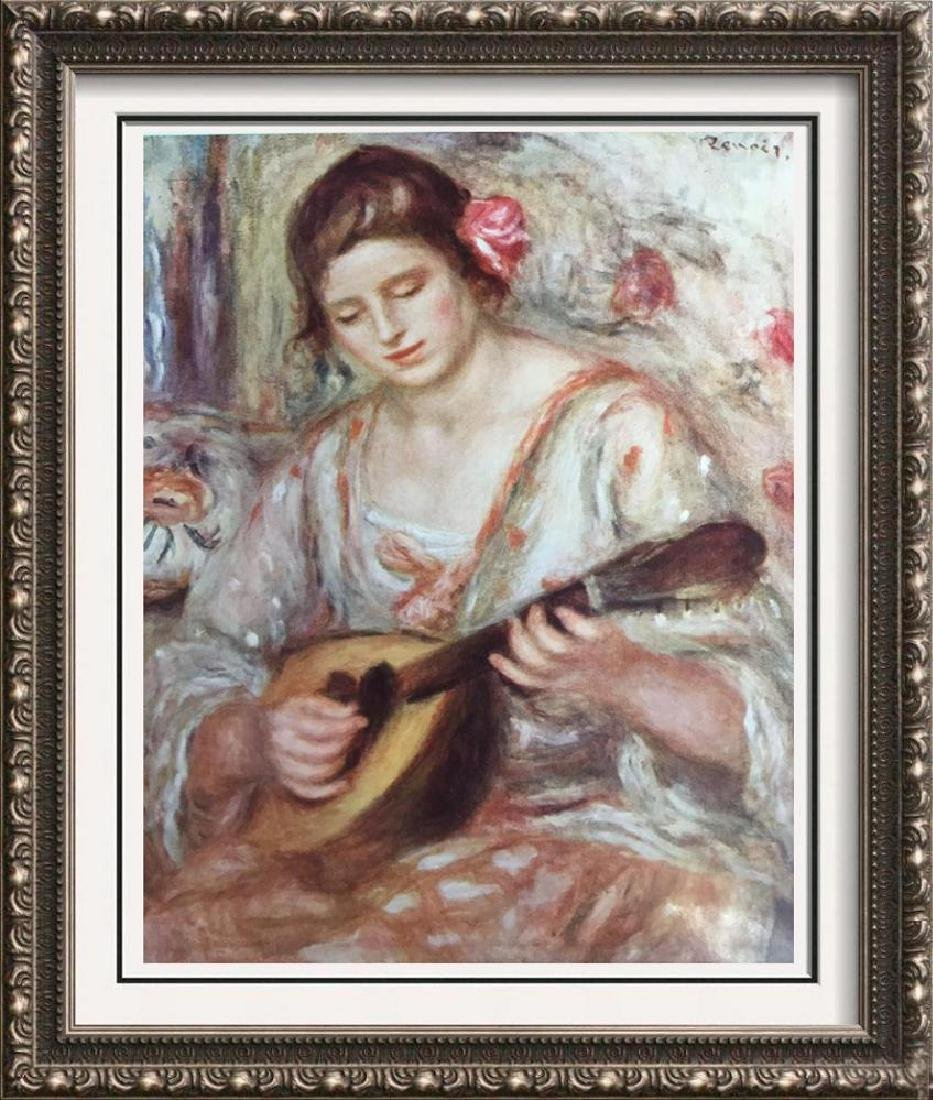Pierre Auguste Renoir Girl with Mandolin c.1918 Fine