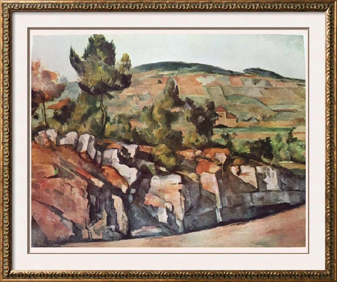 Paul Cezanne Mountains in Provence c.1886-90 Fine Art