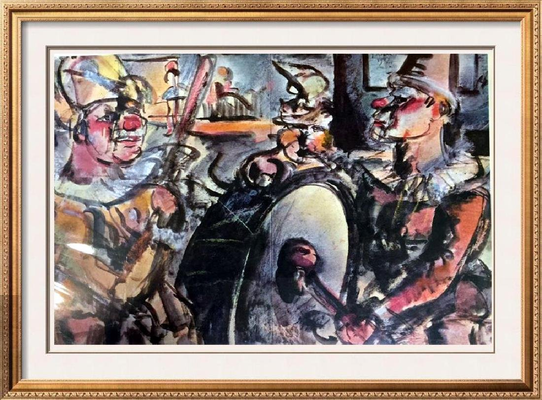 Georges Roualt Parade c.1907 Fine Art Print Signed in