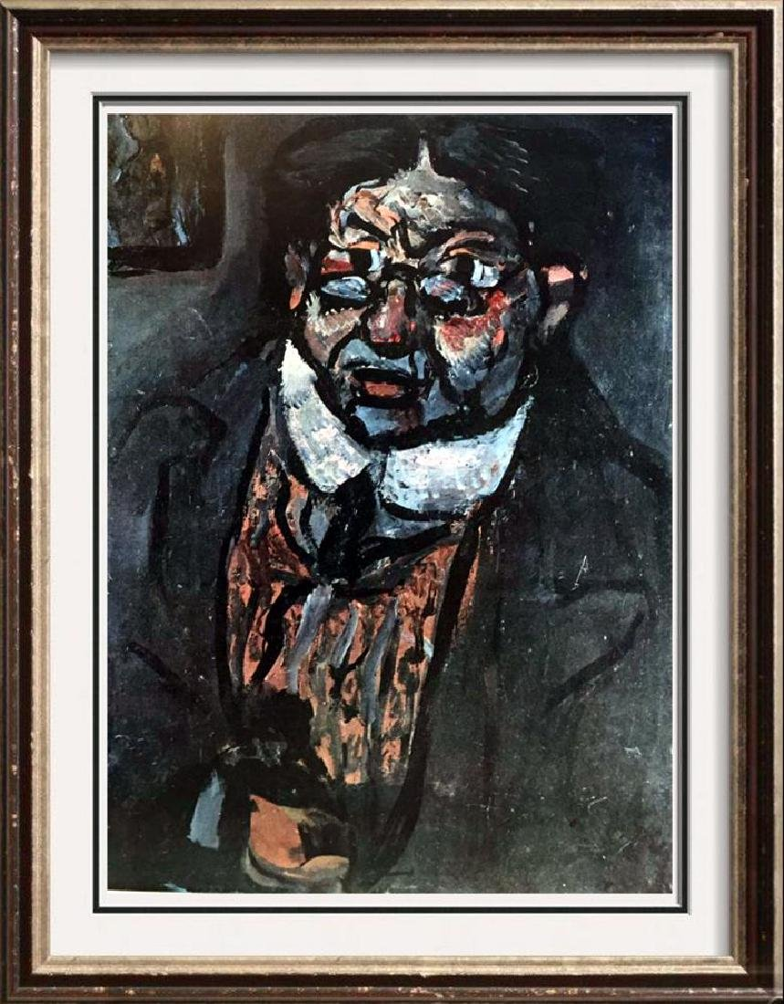 Georges Roualt Mr. X c.1911 Fine Art Print