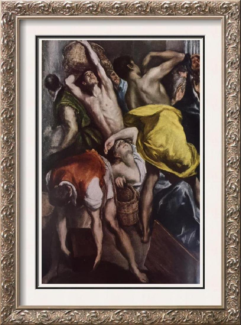 El Greco (Domenicos Theotocopolos) Cleansing of the
