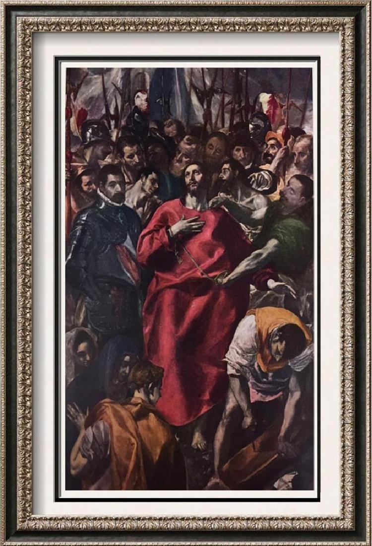 El Greco (Domenicos Theotocopolos) El Espolio c.1579