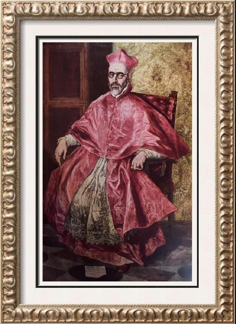 El Greco (Domenicos Theotocopolos) Don Fernando Nino de