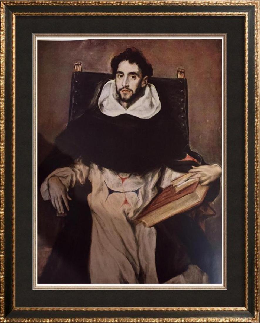 El Greco (Domenicos Theotocopolos) Fray Hortensio Felix