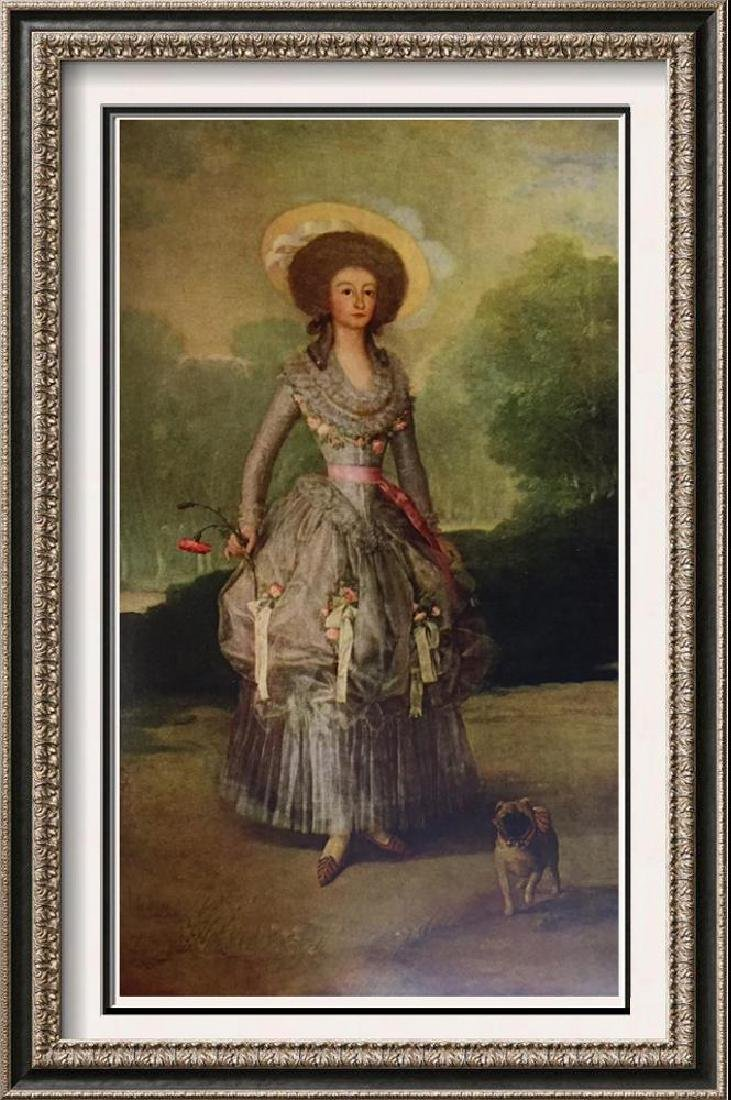 Francisco Jose de Goya y Lucientes The Marquesa de