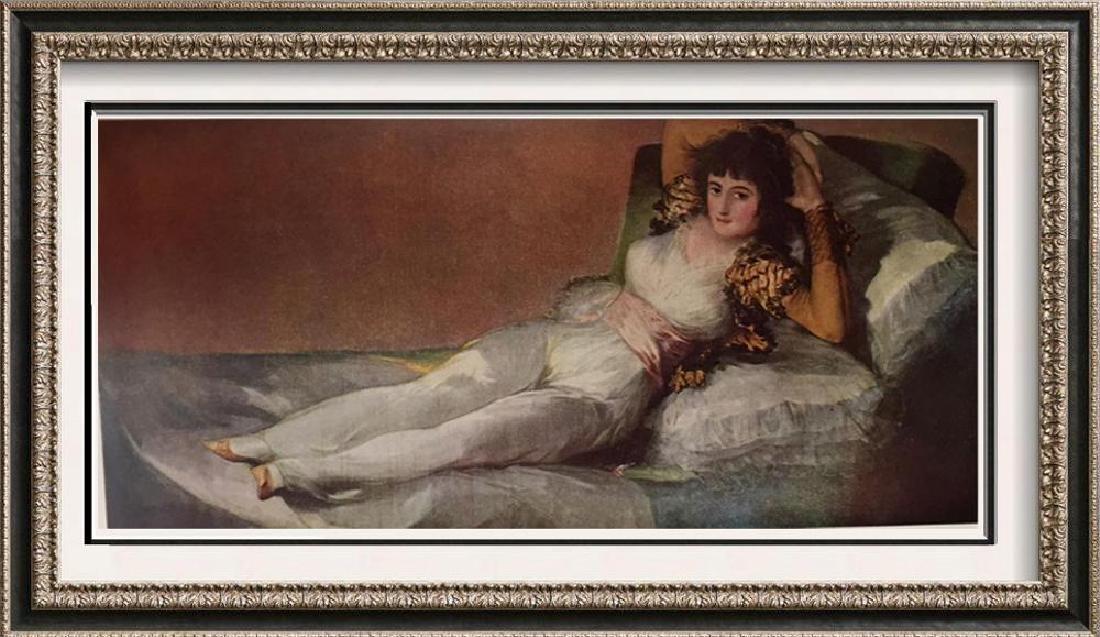 Francisco Jose de Goya y Lucientes The Maja Clothed