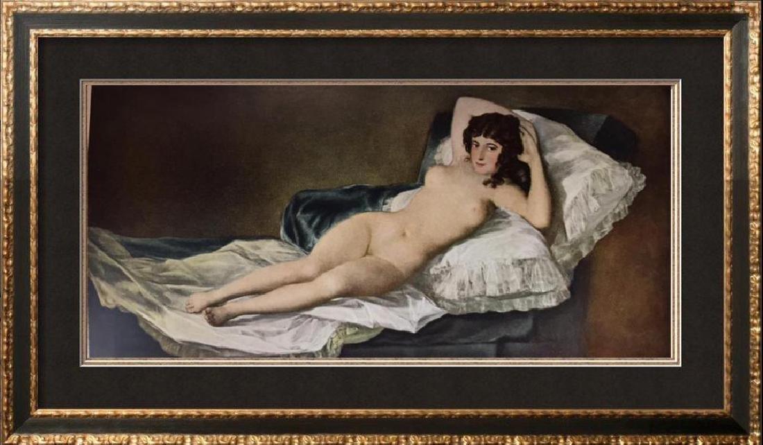 Francisco Jose de Goya y Lucientes The Maja Nude