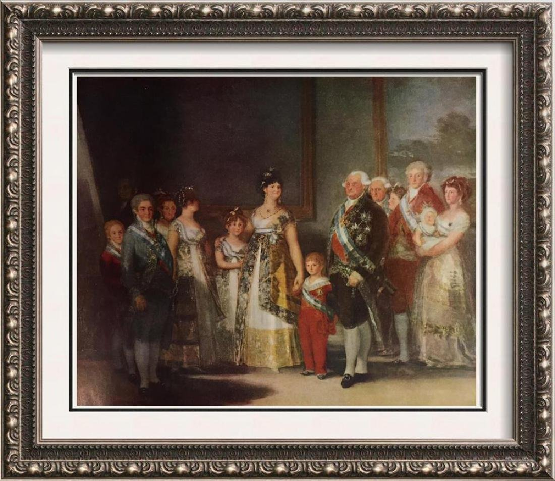 Francisco Jose de Goya y Lucientes The Family of