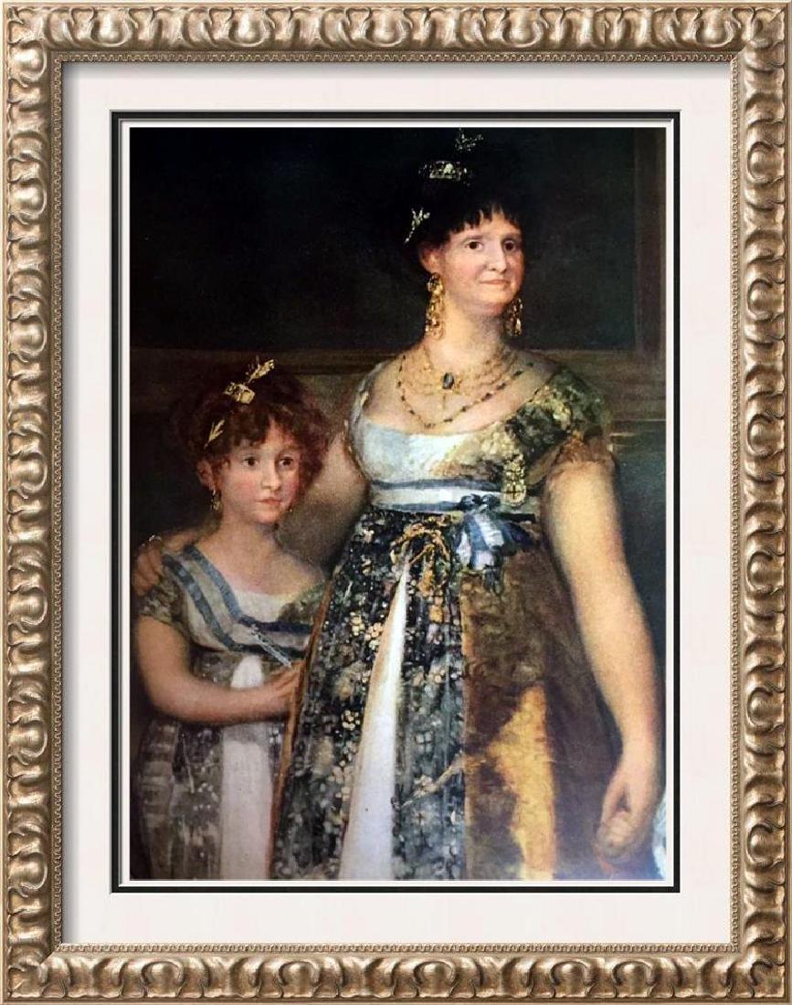 Francisco Jose de Goya y Lucientes Detail of the Family