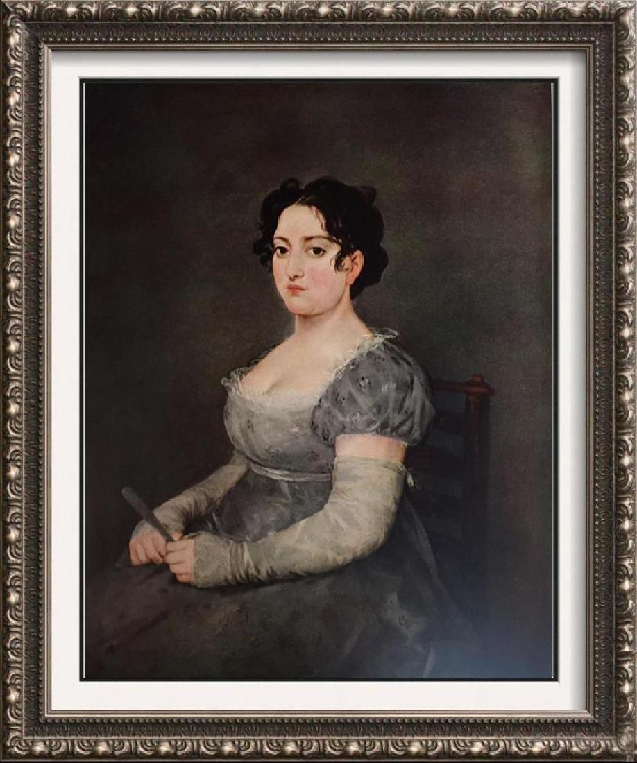 Francisco Jose de Goya y Lucientes Woman in Gray c.1805