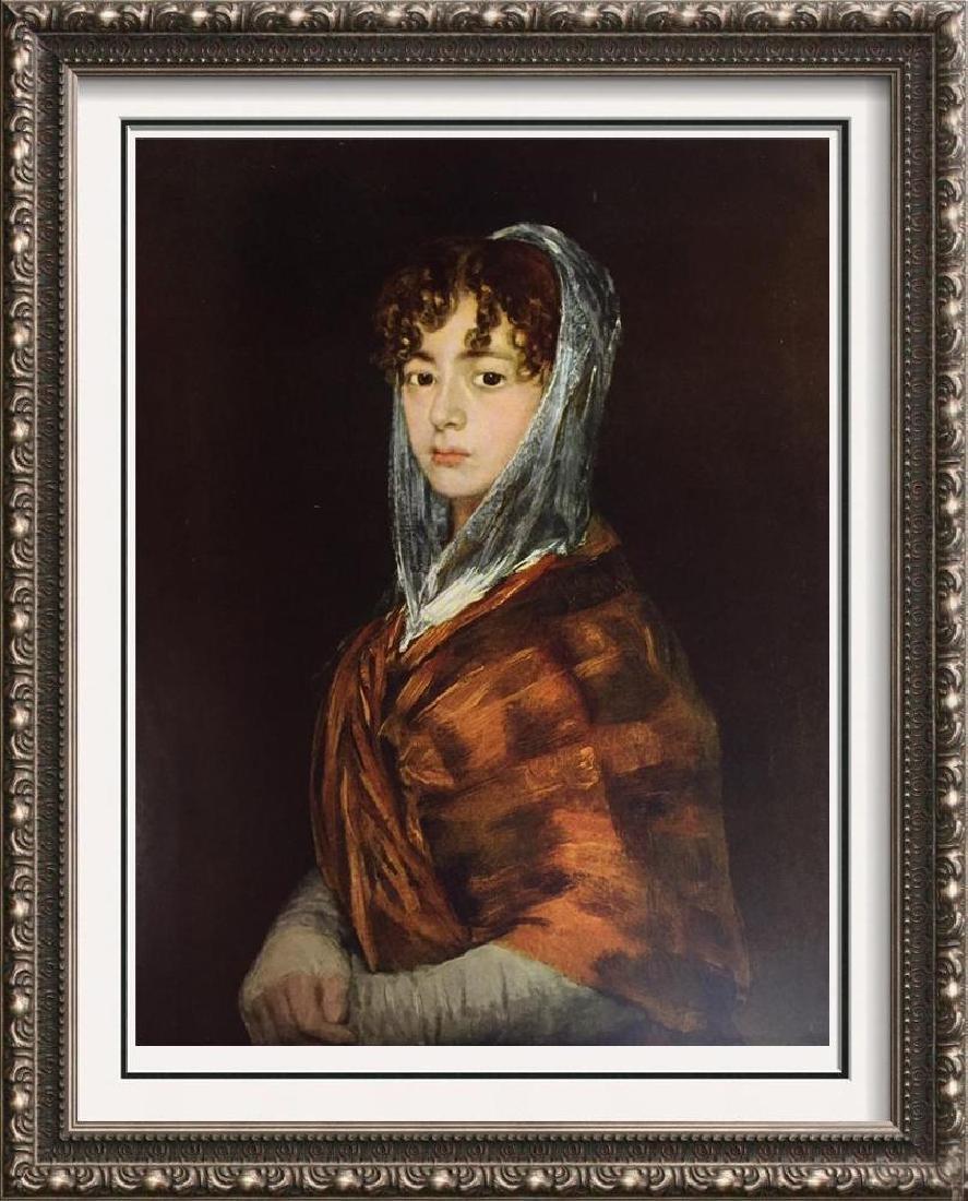 Francisco Jose de Goya y Lucientes Senora Sabasa Garcia