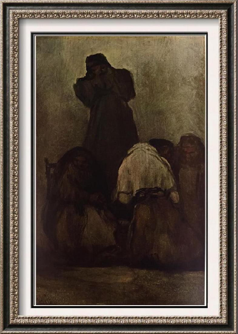 Francisco Jose de Goya y Lucientes Preaching Monk