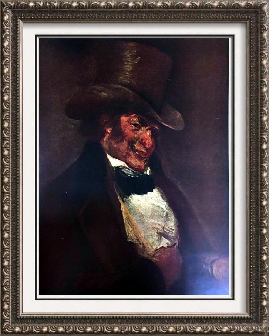 Francisco Jose de Goya y Lucientes Self-Portrait in a