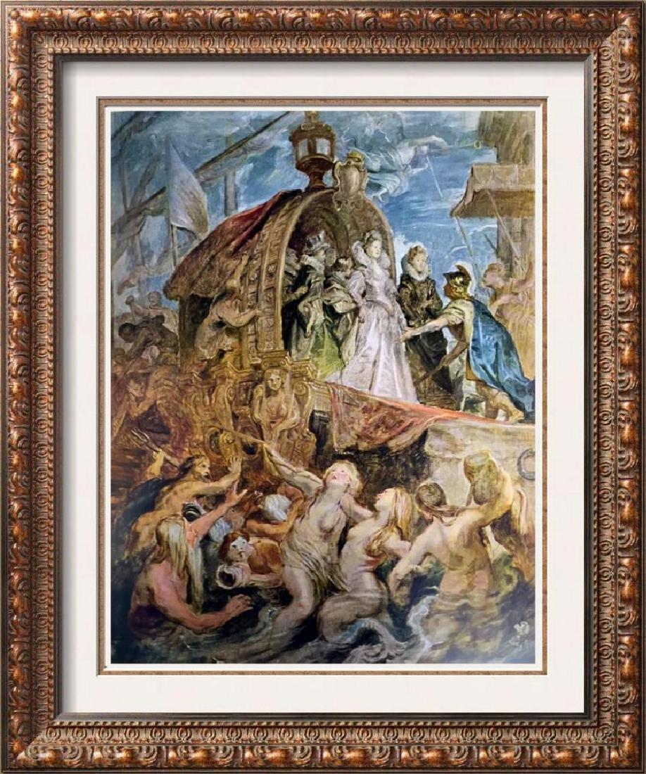 Peter Paul Rubens The Landing of Marie de Medicis
