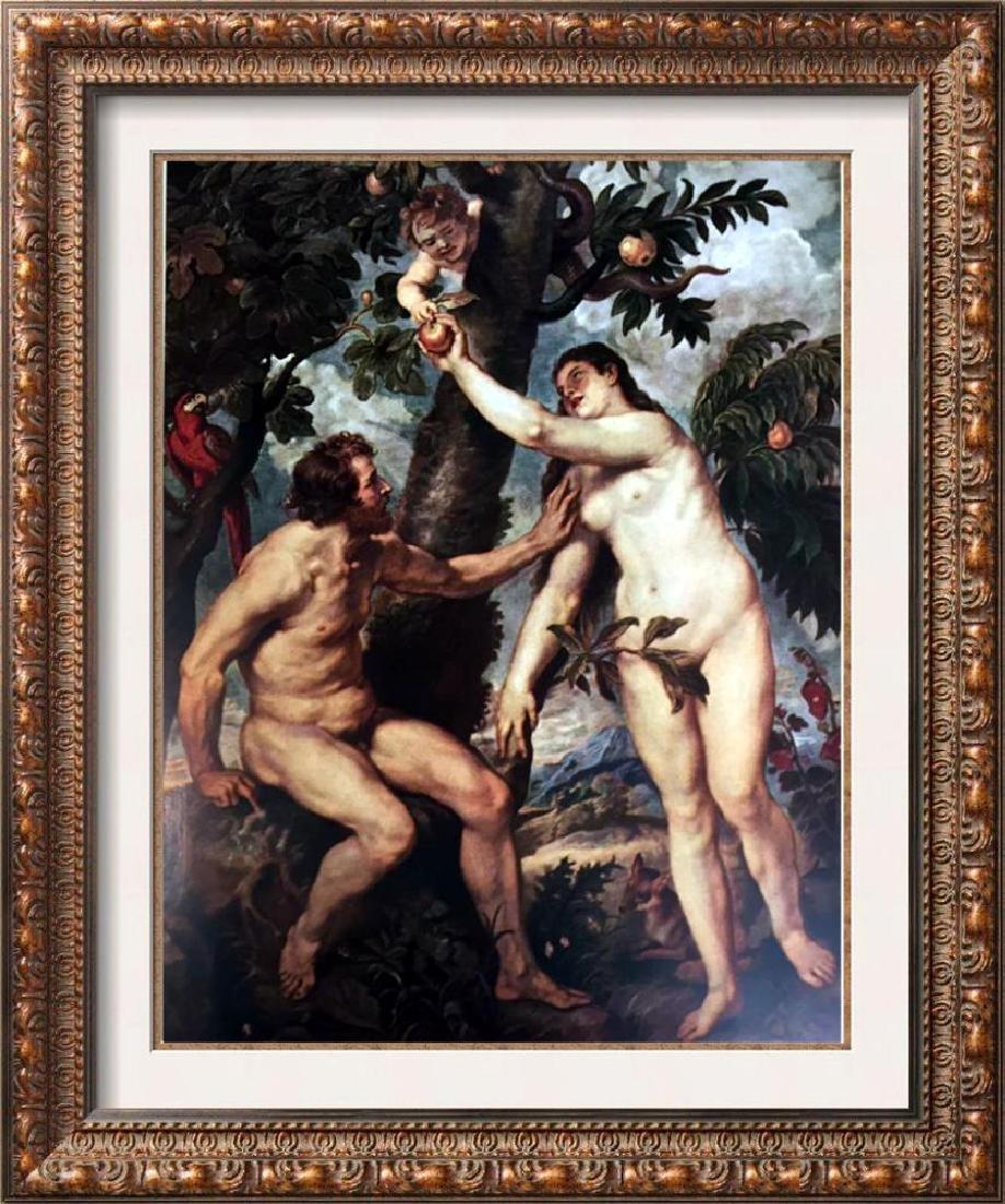 Peter Paul Rubens Adam and Eve c.1628-29 Fine Art Print