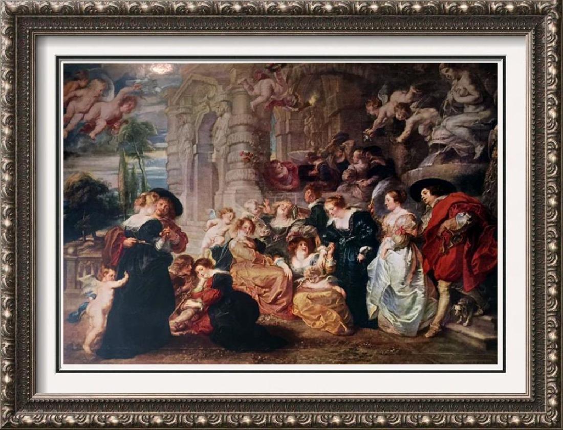 Peter Paul Rubens The Garden of Love c.1632-34 Fine Art