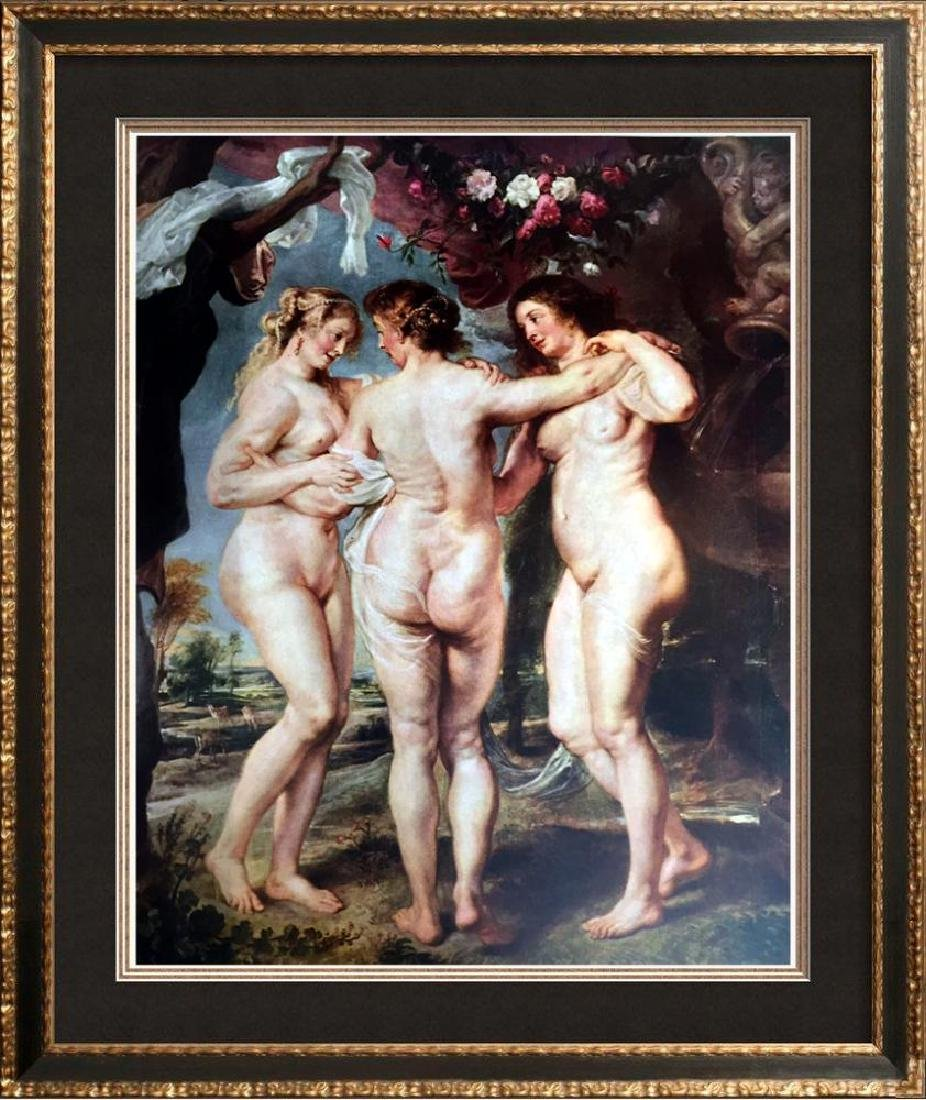 Peter Paul Rubens The Three Graces c.1636-40 Fine Art