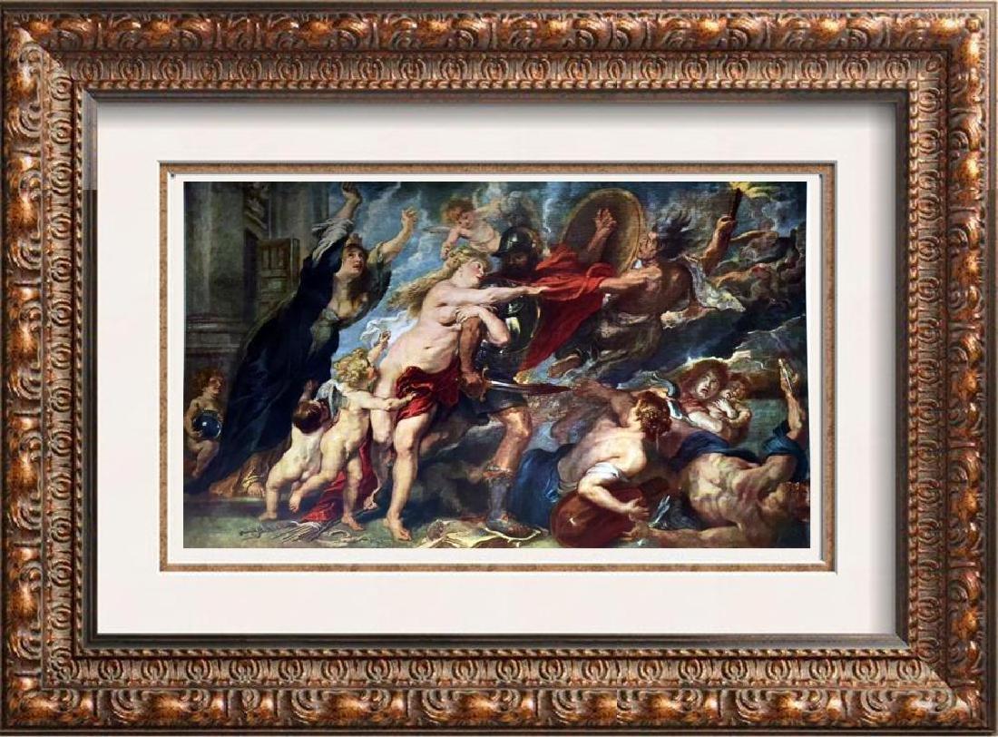 Peter Paul Rubens Allegory of War c.1637 Fine Art Print