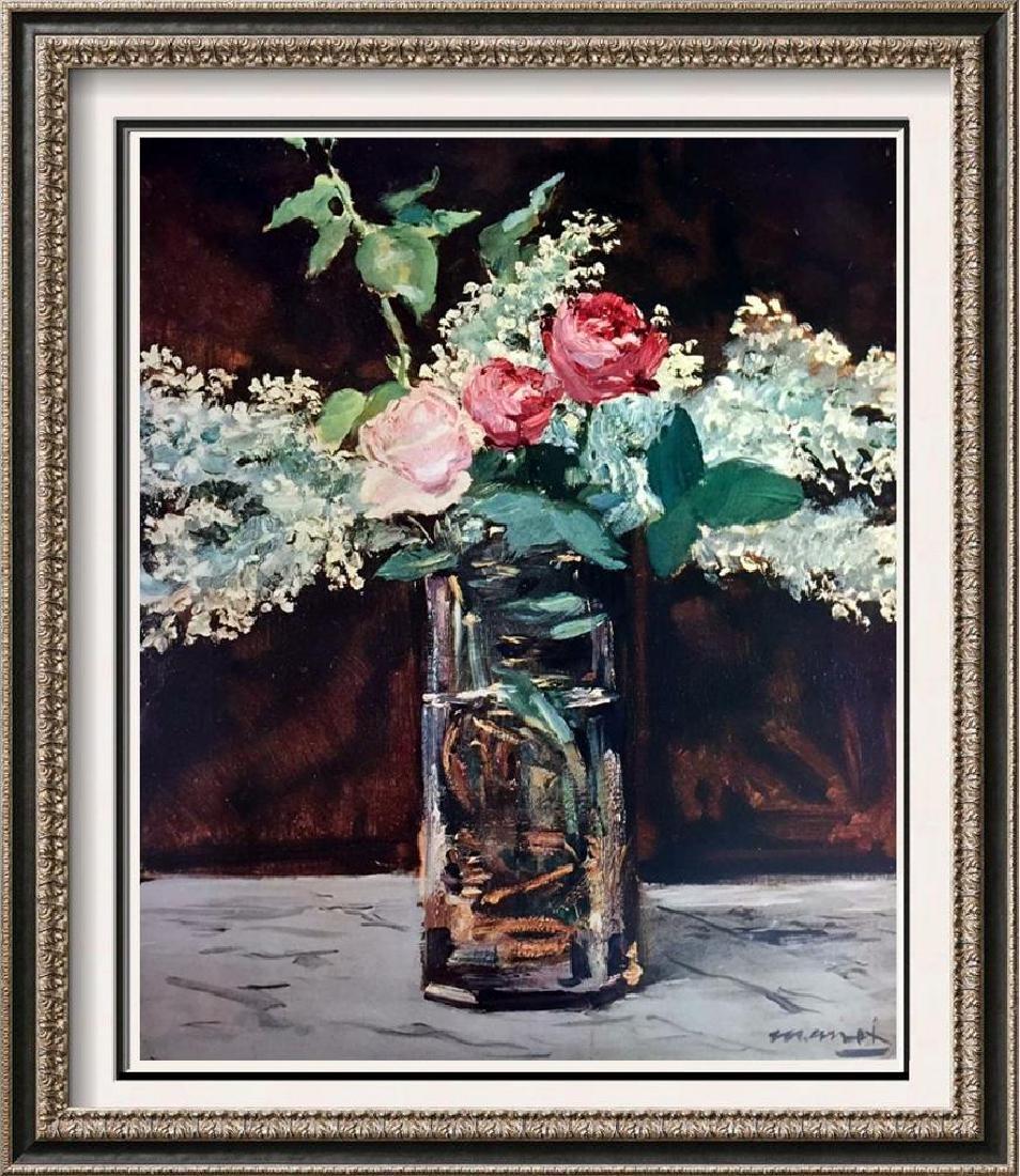 Edouard Manet White Lilacs and Roses c.1883 Fine Art