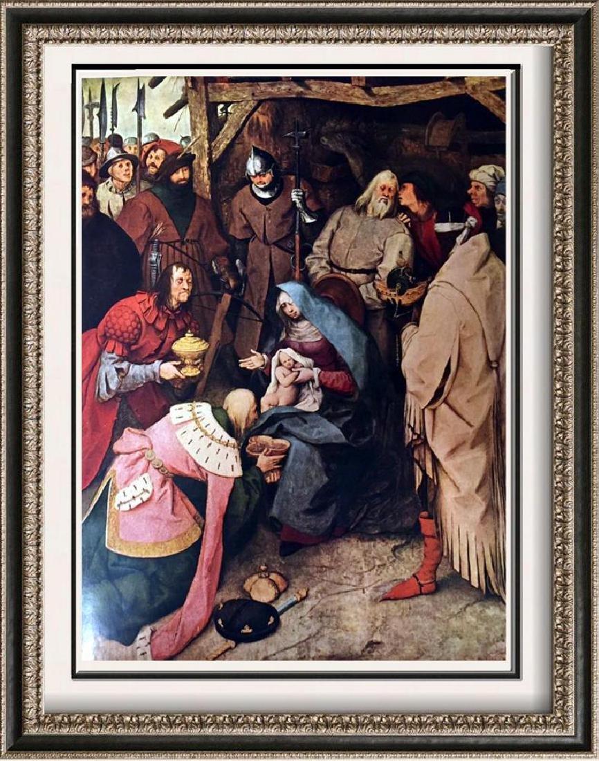 Pieter Bruegel The Adoration of the Magi c.1564 Fine