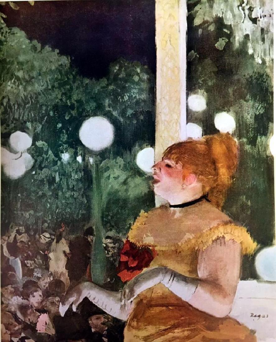 Edgar Degas Café-Concert: The Song of the Dog c.1875-77 - 2