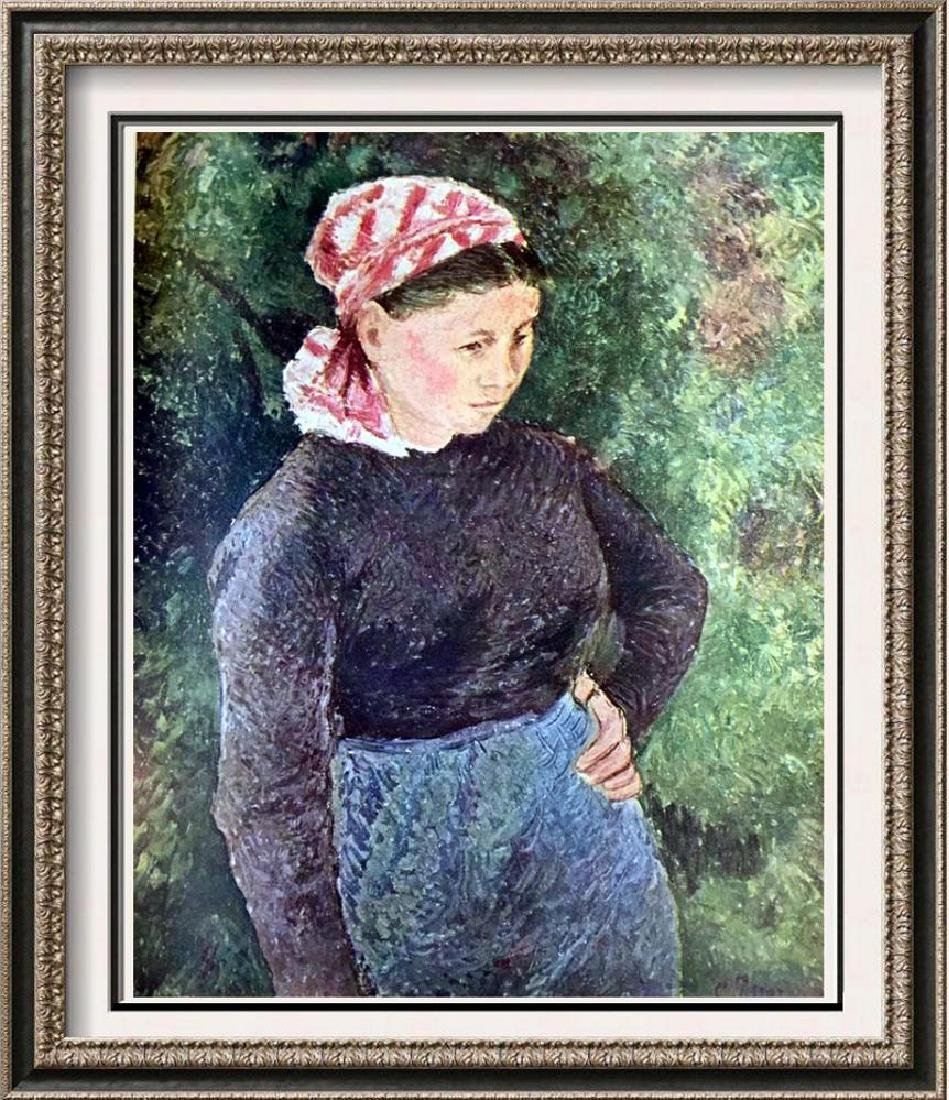 Camille Pissarro Peasant Woman c.1880 Fine Art Print