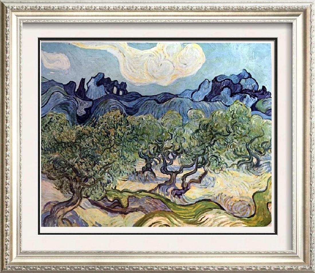 Vincent Van Gogh Landscape with Olive Trees c.1889 Fine