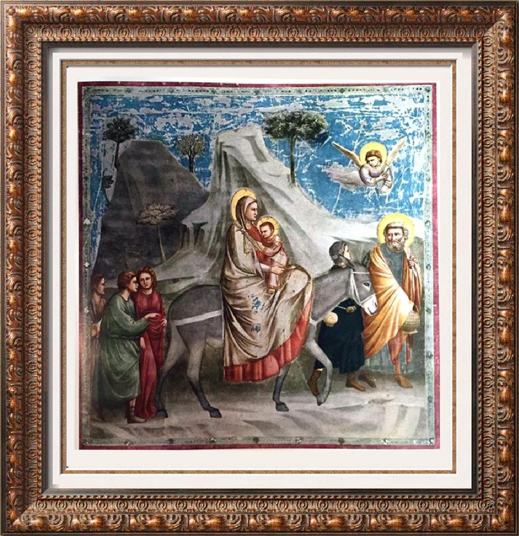 Masterpieces Giotto: The Flight into Egypt c.1305 Fine