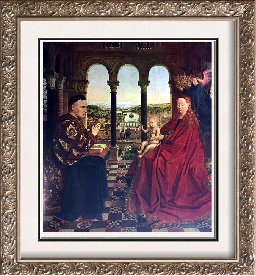 Masterpieces Jan Van Eycl: The Virgin and Chancellor