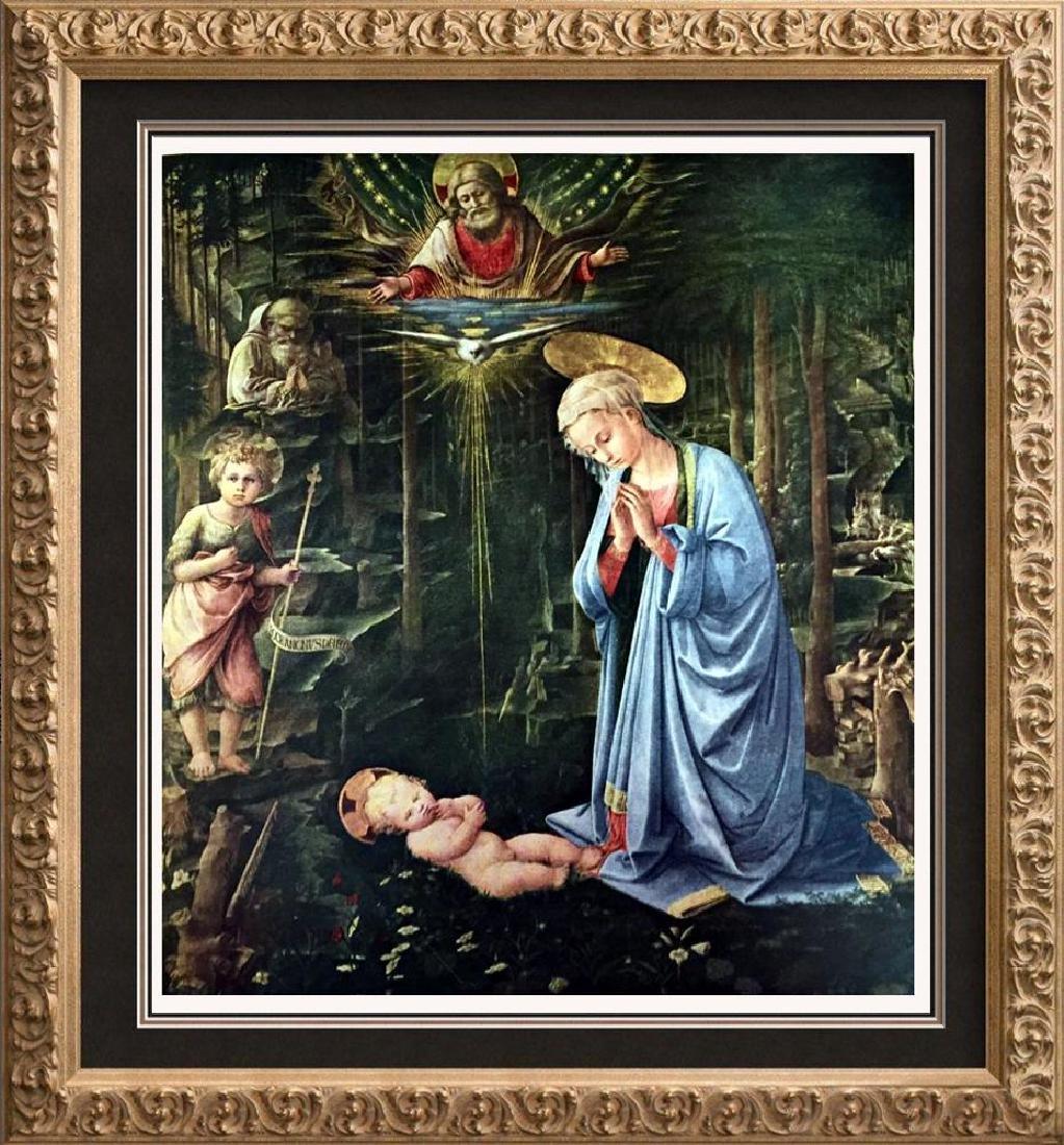 Masterpieces of Italian Paintings Fra Filippo Lippi: