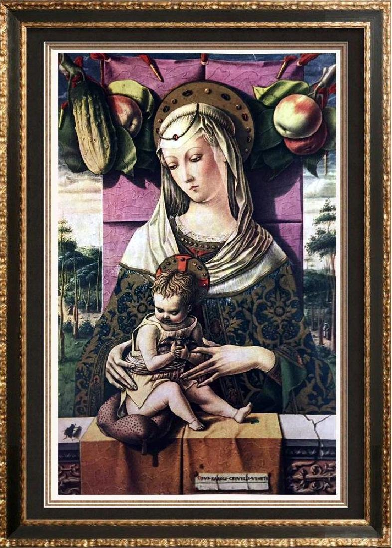 Masterpieces of Italian Paintings Crivelli: The Madonna