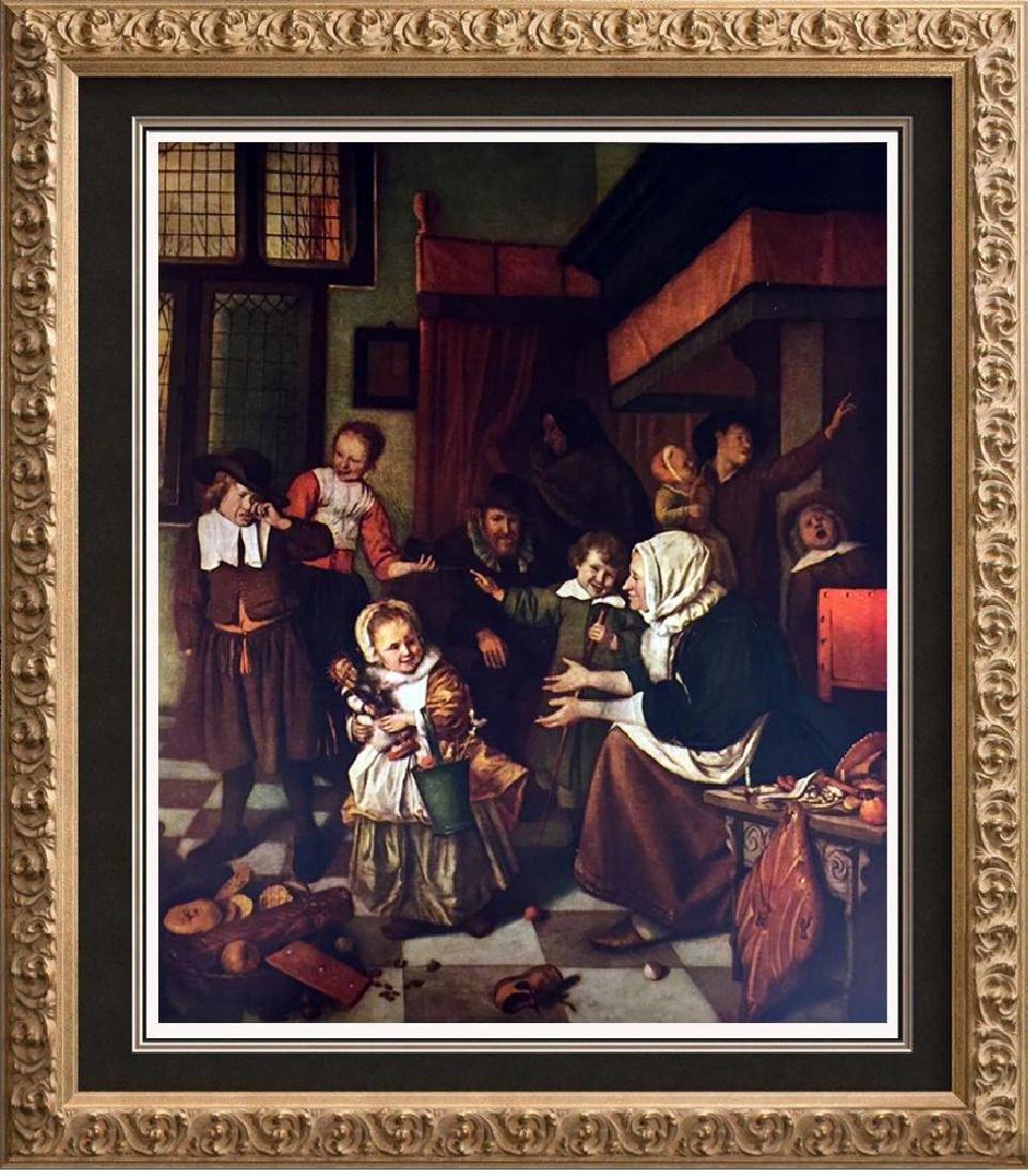 Masterpieces of Dutch Painting Jan Steer: Saint