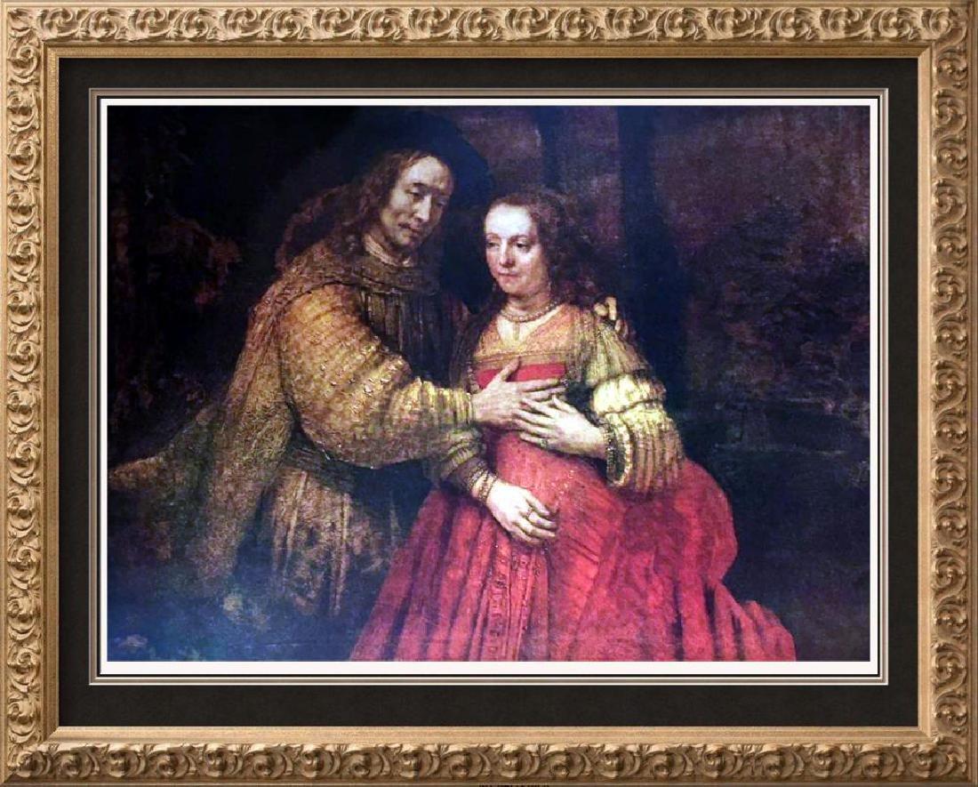 Rembrandt The Bridal Couple c.1666 Fine Art Print