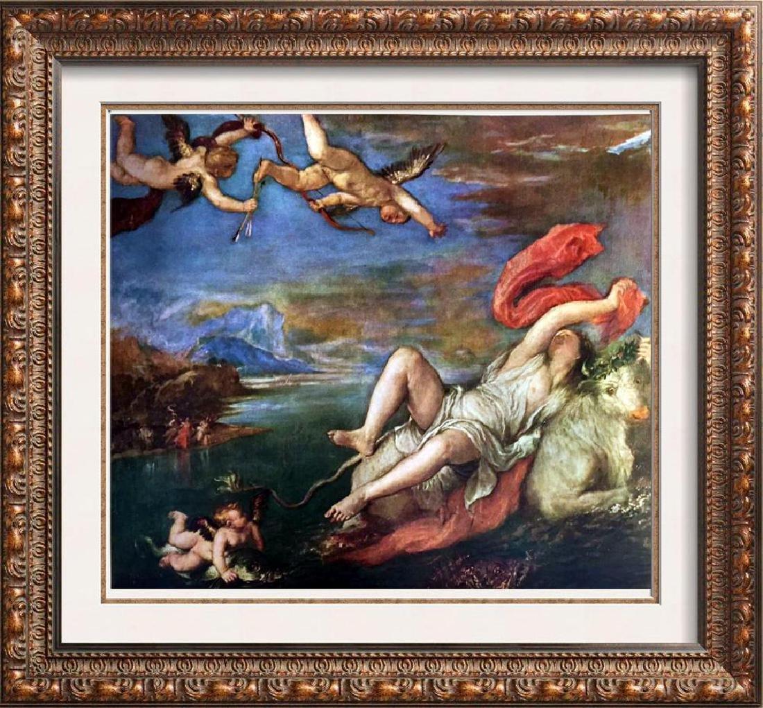 Tiziano Vecellio Titian The Rape of Europa c.1559 Fine