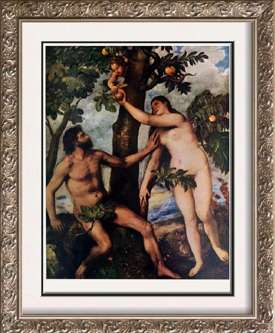 Tiziano Vecellio Titian The Fall of Man c.1570 Fine Art