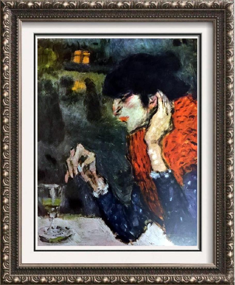 Pablo Picasso The Absithe Drinker c.1901 Fine Art Print