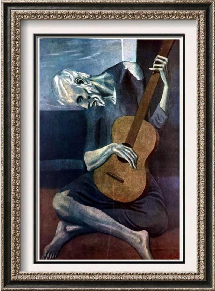 Pablo Picasso The Old Guitarist c.1903 Fine Art Print