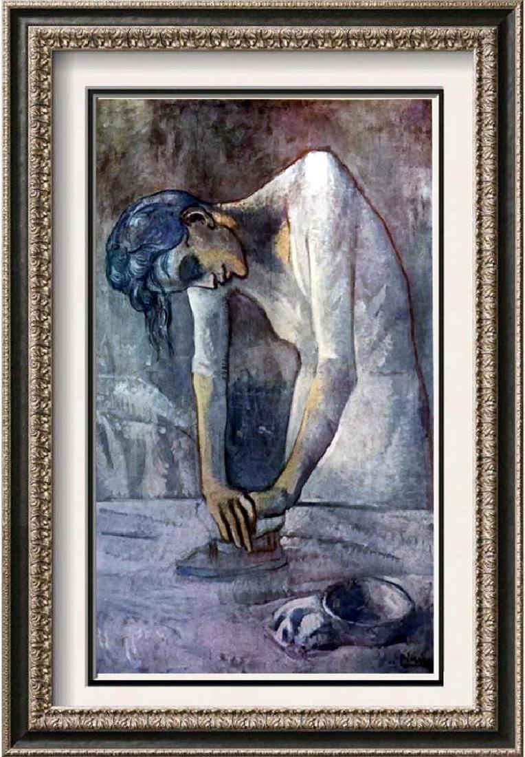 Pablo Picasso Woman Ironing c.1904 Fine Art Print