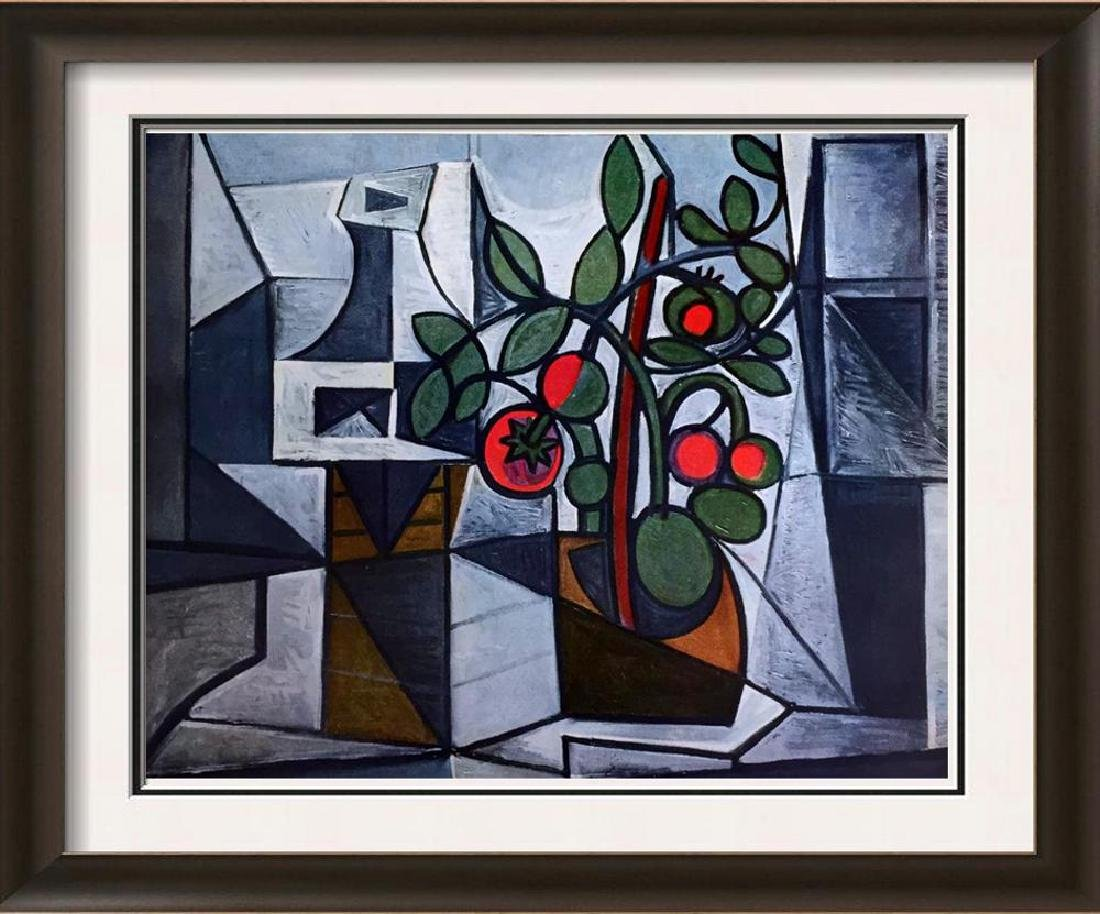Pablo Picasso Tomato Plant and Decanter c.1944 Fine Art